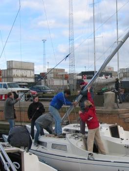 Sejlerskole forårsklargøring